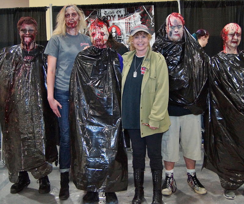Bloody Mary Monster Makeup Wars 2014