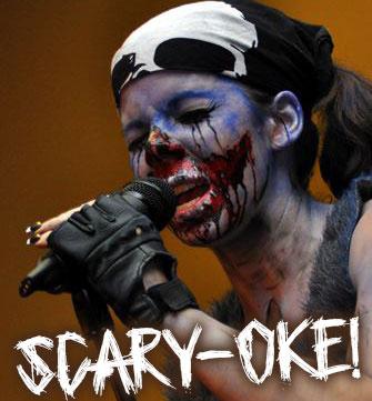 SCARY-OKE!